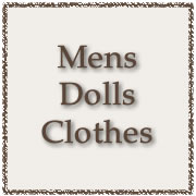 Adult Male Dolls Clothes