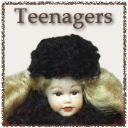 Dressed Teenager Dolls