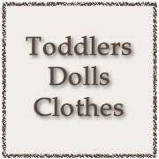 Toddlers Dolls Clothes