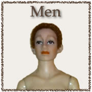 Adult Male Undressed Dolls