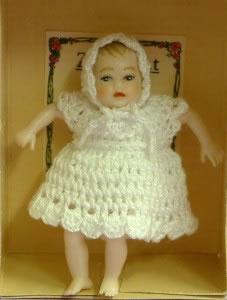 Heidi Ott Dolls House Doll, Baby (white) (XB004)