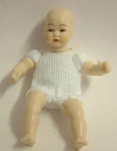 Heidi Ott Dolls House Doll, Toddler with Blue Eyes (XKB09)