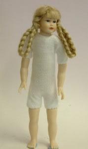 Heidi Ott Dolls House Doll, Teenager Girl with Long Platted Hair (XKK11)