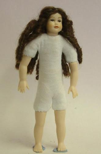 Heidi Ott Dolls House Doll, Teenager Girl with Long Hair (XKK14)
