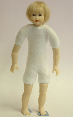 Heidi Ott Dolls House Doll, Teenager with Blue Eyes (XKK15)