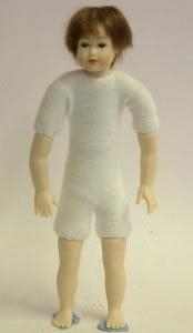 Heidi Ott Dolls House Doll, Teenager with Brown Eyes (XKK16)