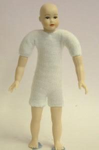 Heidi Ott Dolls House Doll, Teenager with Brown Eyes (XKK18)