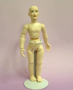 Heidi Ott Dolls House Doll, Nude Man with Blue Eyes (XKM01)