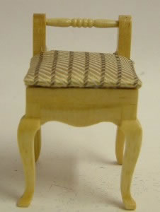 Dolls House Miniature Cherry Chair (XY501C)