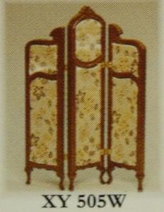 Dolls House Miniature Walnut Dressing Screen (XY505W)