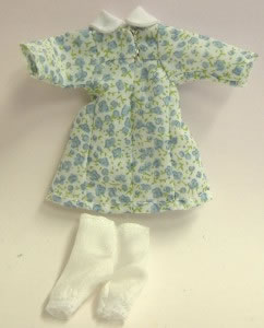Girls Dress, Dolls House Miniature (XZ943)