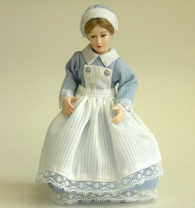 Heidi Ott Dolls House Doll, Young Nurse (X082)