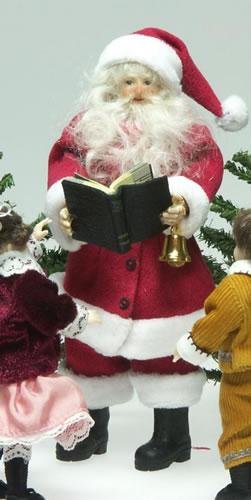 Heidi Ott Dolls House Doll, Santa Clause (X088)