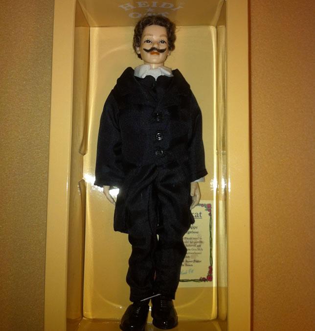 Heidi Ott Male Doll in a black suit (X105)