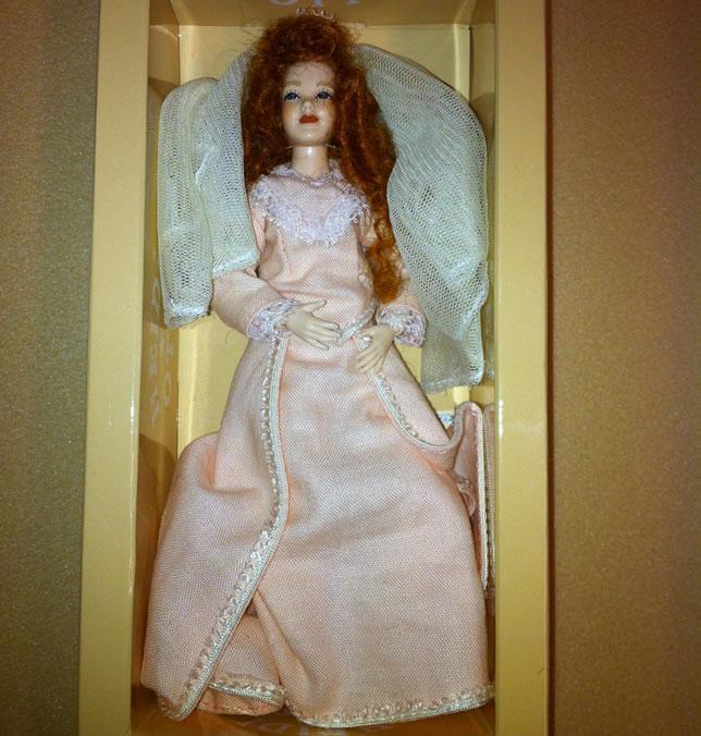 Heidi Ott Lady Doll in a wedding dress (X106)