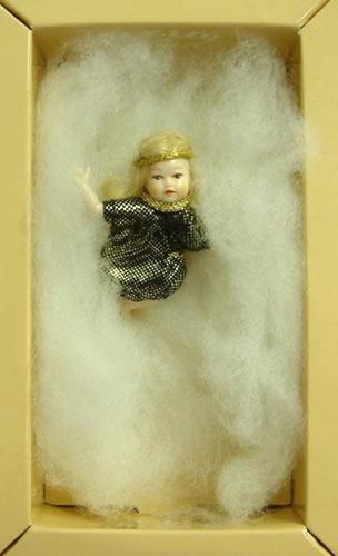 Heidi Ott Dolls House Doll, Baby Angel in a Cloud (XB027)