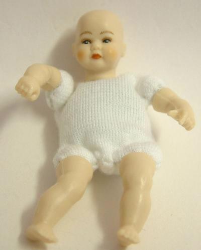 Heidi Ott Dolls House Doll, Toddler with Brown Eyes (XKB10)