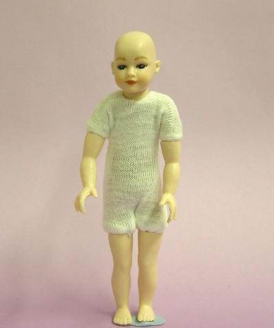 Heidi Ott Dolls House Doll, Young Boy with Blue Eyes (XKK05)