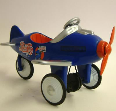 Dolls House Toy Pedal Plane (XY114)