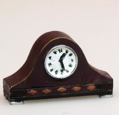 Heidi Ott Mantle Clock, Dolls House Miniature (XY412)