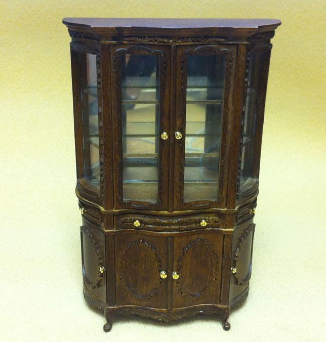 Dolls House Dining Room Display Cabinet (XY721)