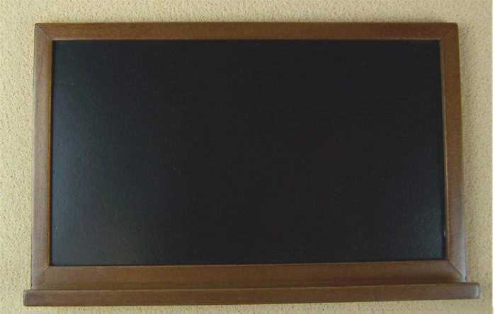 Dolls House Miniature School Blackboard (XY772W)