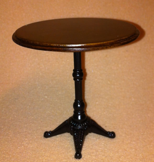 Dolls House Round Bistro Table (Rose) (XY782W)