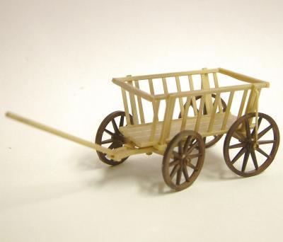 Dolls House Miniature Children's Small Wheel Cart (XZ102)