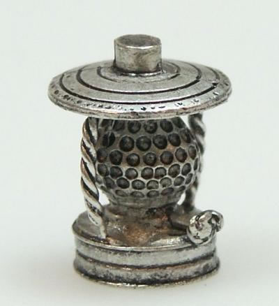 Dolls House Miniature Pewter Lamp (XZ202)