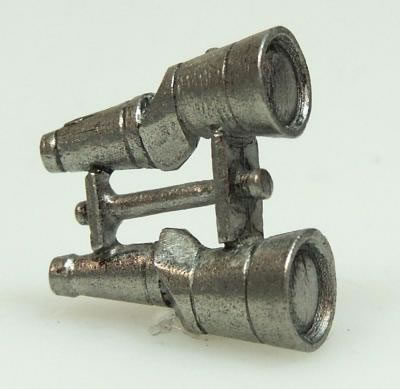 Dolls House Miniature Pewter Binoculars (XZ205)