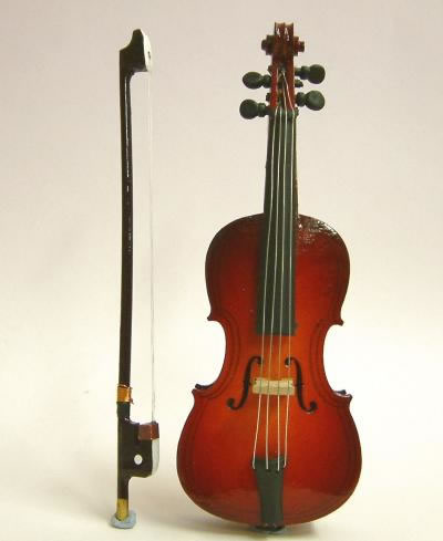 Dolls House Miniature Cello (XZ304)