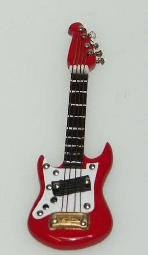 Dolls House Miniature Electric Guitar (XZ311)