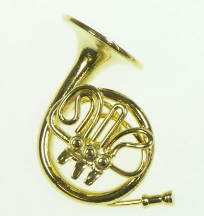 Dolls House Miniature French Horn (XZ331)