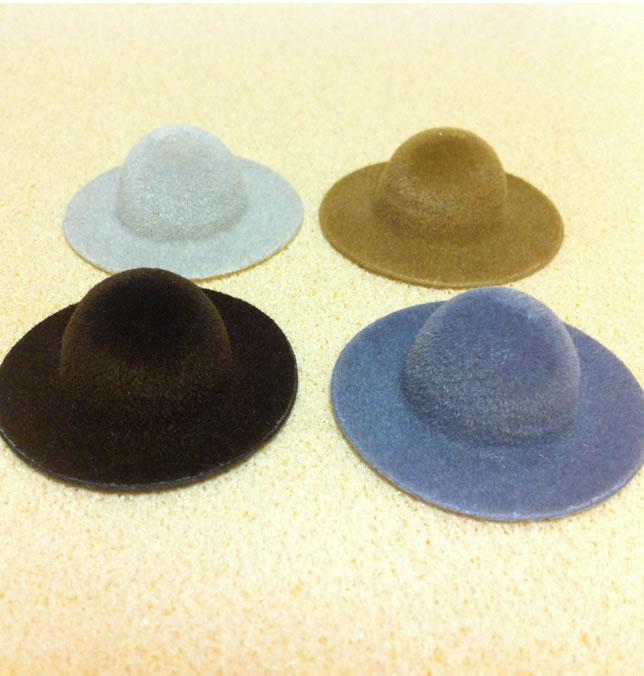 Set of 4 Dollhouse Dolls Hats for Heidi Ott Lady Dolls (XZ785)