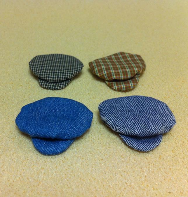 Set of 4 Dollhouse Dolls Hats for Children (XZ788)