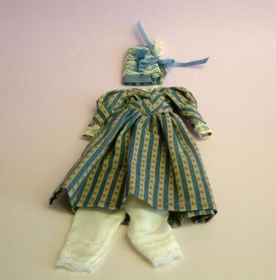 Heidi Ott Ladies Dress, Dolls House Miniature (XZ966)