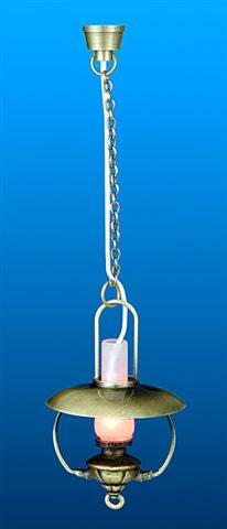 Dolls House Nostalgic Hanging Oil Lamp (YL5045)