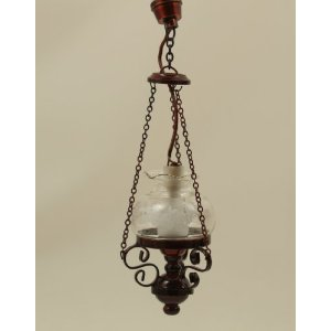 Dolls House Hanging Oil Lamp (YL5047)