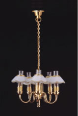 Dolls House Chandelier (5-Up-Arm) (YL6027)