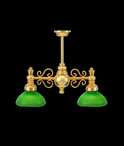 Dolls House Chandelier (2-Down-Arm) (YL6063G)