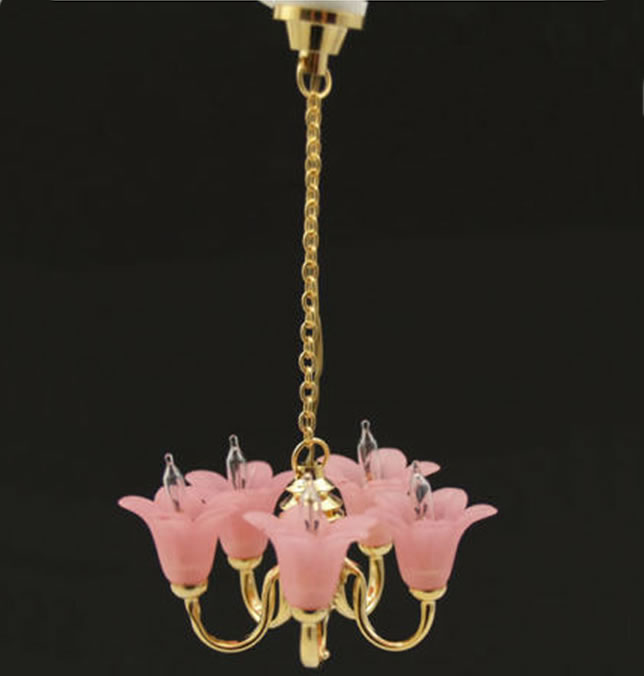 Dolls House Chandelier (5 Up Arm) (YL6070)