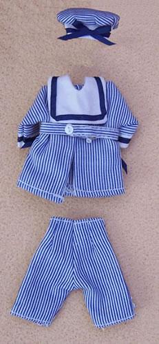 Child's Sailor Outfit, Dolls House Miniature (XZ940)