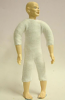 Heidi Ott Dolls House Doll, Old Man with No Hair (XKM07)