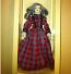 Heidi Ott Lady Doll in a red dress (X110)