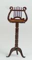 Dolls House Miniature Music Stand (Mahogany)