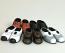 5 Pairs of Men's Dolls Shoes, Dolls House Miniature (XZ759)
