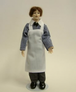 Heidi Ott Dolls House Doll, Butcher (X027)