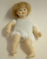 Heidi Ott Dolls House Doll, Toddler with Blue Eyes/Blonde Hair (XKB11)