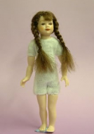 Heidi Ott Dolls House Doll, Young Girl with Plaits (XKK02)