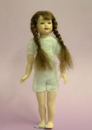Heidi Ott Dolls House Doll, Young Girl with Plaits (XKK02)
